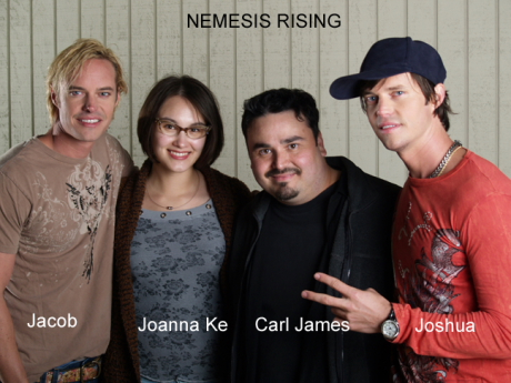 Carl James with Joanna Ke and Nemesis Rising_Jacob and Joshua