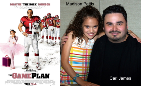 Carl James and Madison Pettis