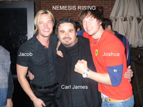 Carl James and Nemesis Rising_Jacob and Joshua