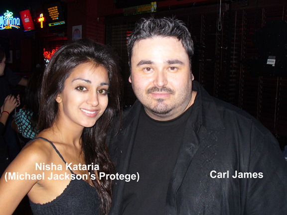 Carl James and Nisha Kataria