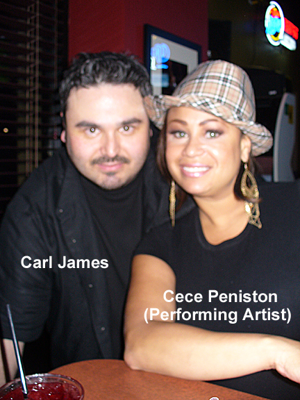 Carl James and Cece Peniston