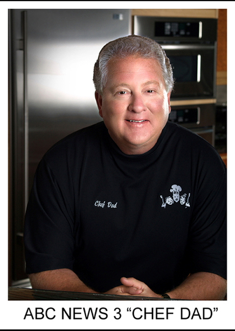 Chef Dad Personality Portrait by Carl James Photography
